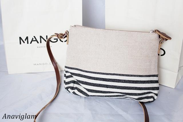 Mango Jute Cross-Body Bag 3