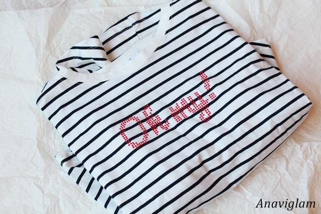 Zara Applique jewels t-shirt 1