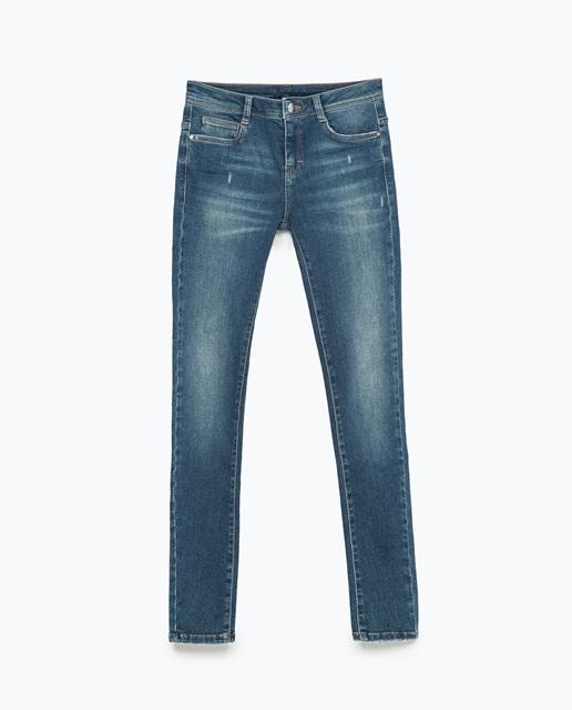 Zara Body curve jeans
