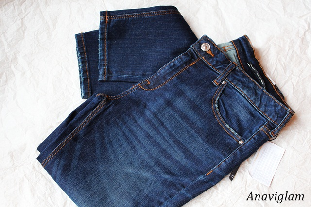 Zara Skinny modal trousers 1