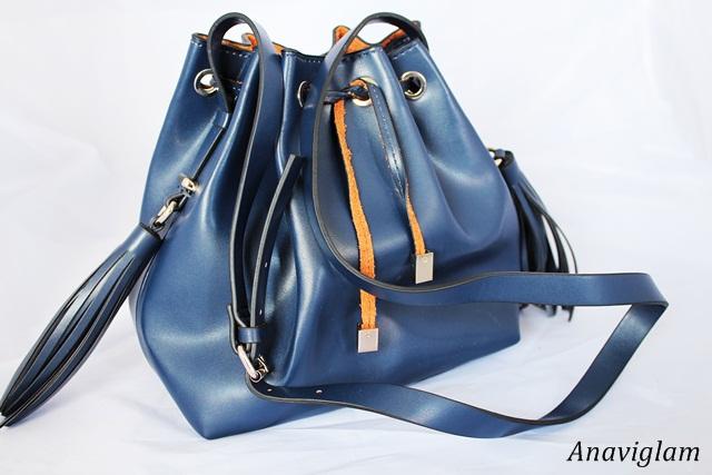 Zara Tassel bucket bag 1