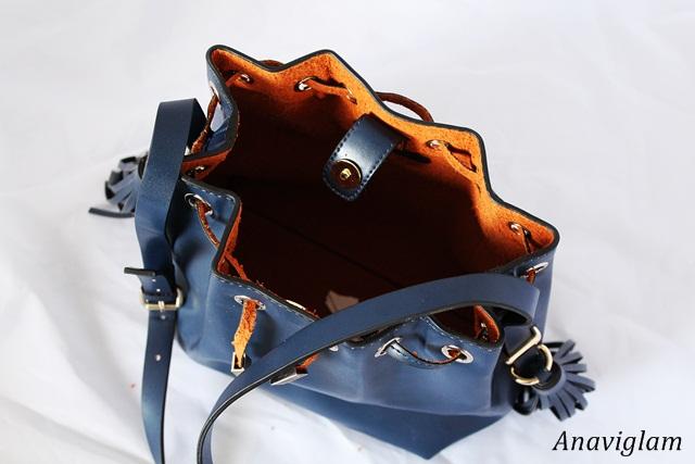 Zara Tassel bucket bag 2