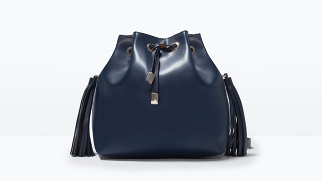 Zara Tassel bucket bag