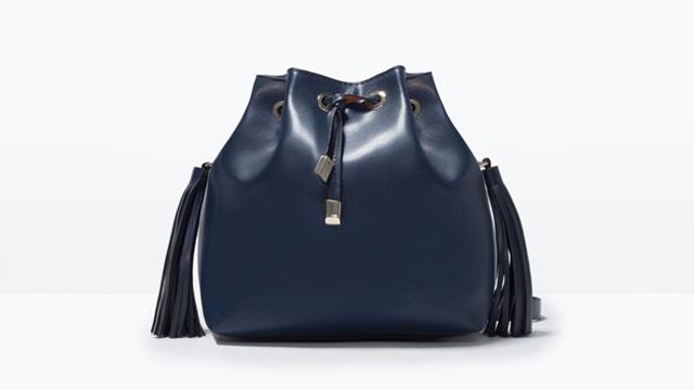 Zara Tassel bucket bag