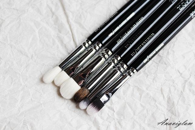 Zoeva eye brushes