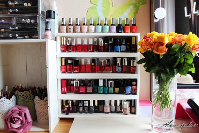 9 nail polish storage
