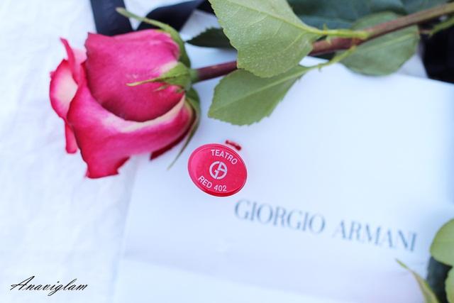 3 Giorgio Armani Rouge Ecstasy 402 Teatro