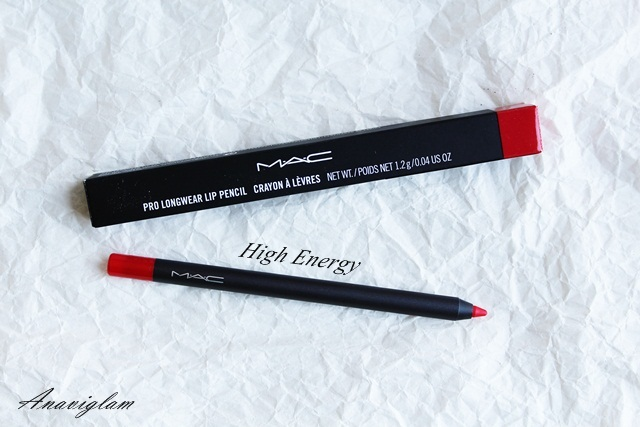 5 mac lip pencil