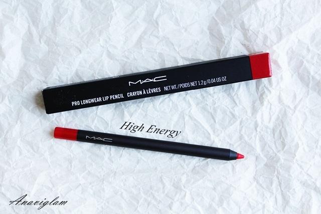 5 mac lip pencil