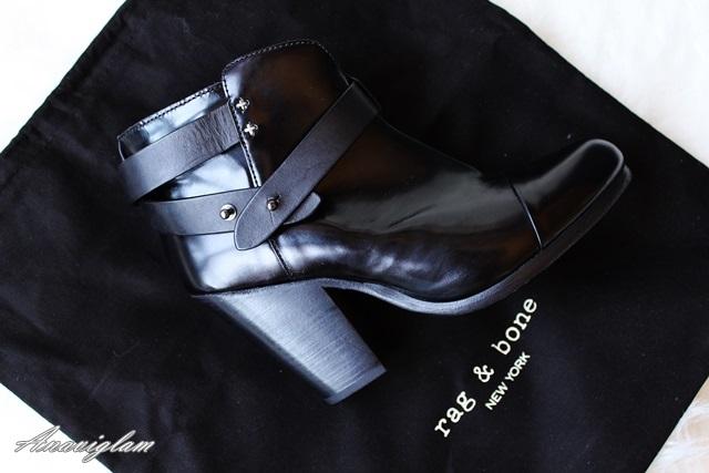 2 rag&bone harrow boots black