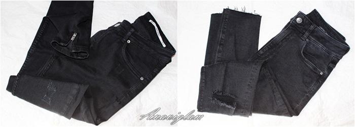 42 Zara black jeans