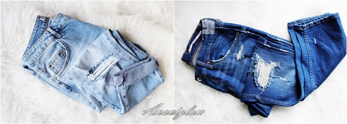 43 Zara ripped jeans