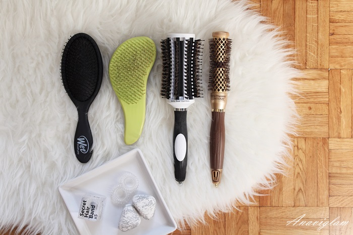 Wet brush, Macadamia brush, Olivia garden Brush