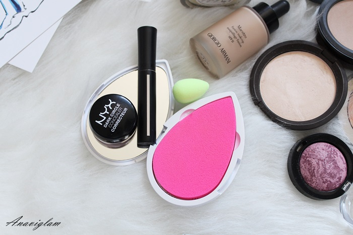 beauty blender nyx giorgio armani