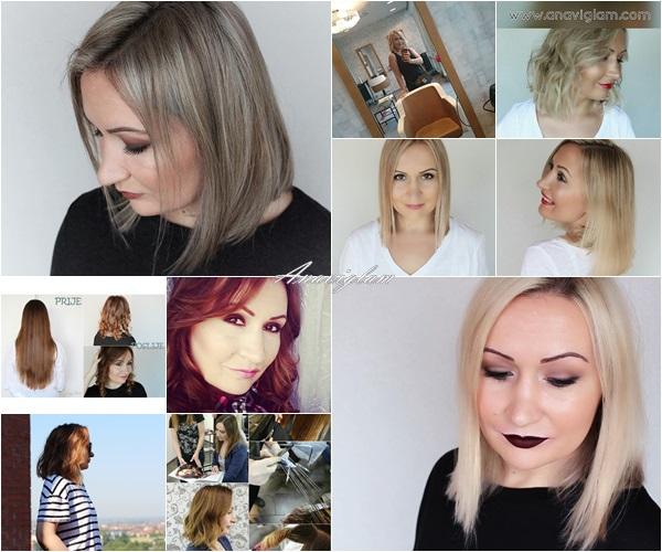 hair blonde gray