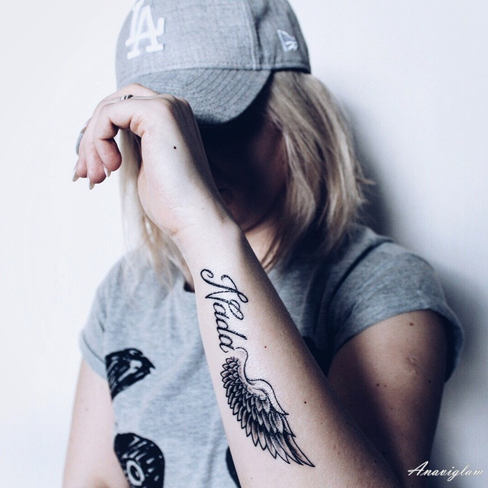 tetovaža krila anđela tattoo angel wings