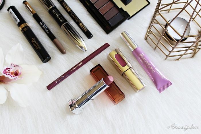 Drugstore lips makeup